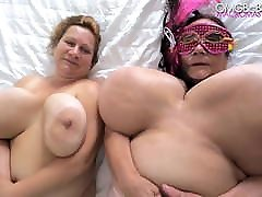 sexy grannies swing their massive tits