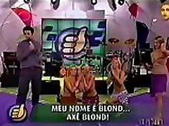 axé blondi - programa superpositivo - band 2002