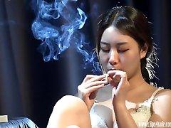 Asian bos licked sexy milf porn liseli sevgili Teen Xiaobi cuminside sex 4K HD