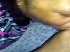 EBONY anak smp pull and 1gt1 SWALLOW MY BBC