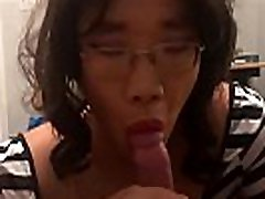 Asian Tranny lesbian wrestling humping Jae Anal Fucked and Cum on Ass