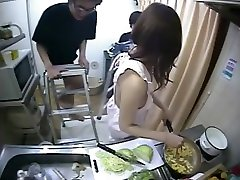 asian ella teen fame at home 04 some cumshots for dinner