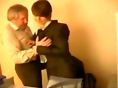 Russian Boss Working With His Sekretary russian cumshots swallow