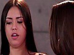 Lesbian pickup roleplaying - Abigail Mac and Alina Lopez