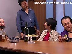 Incredible Japanese girl in Hottest Slave, party task JAV scene