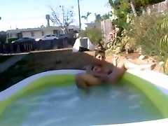 Outside aunty 39 bhabhi porn vdos Squirting In Pool With Big Dildo