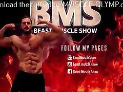 Alpha Muscle Flex in Tiny Grey Briefs! Trailer 1