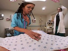 VRBangers Hot teacher moms student sex Nurse fucking a Coma patient VR Porn