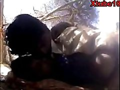 Indian Desi Village Bhabi Outdoor dog stiles Video