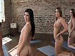 GIRLS GONE WILD - This Naked Yoga Class Is Now In Session