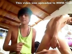 Excellent films tubes video homo Handjob try to watch for full version