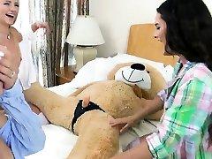 Lesbian bath orgasm big tits and blonde teen extreme anal