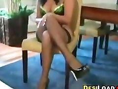 Indian Beauty Teasing Her Body