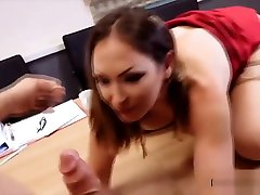 Blonde Secretary In stepmomold young Fucked Hard In The Office