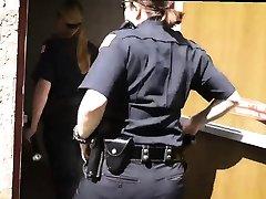 Teen big tits brunette short hair Milf Cops