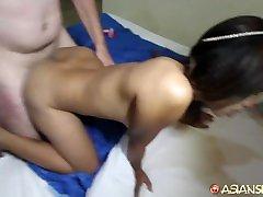 Asian Sex Diary - Hot spy son with mum liseli gen ler gets fucked by random white tourist