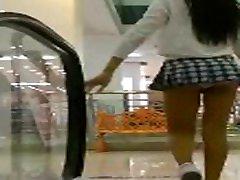 Asian hot teen zamyaa Panty Teasing