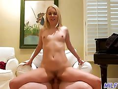 MILF Trip - Horny cute blonde MILF gets creampied - Part 2