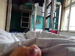 Jerking in a hostel in Amsterdam 2