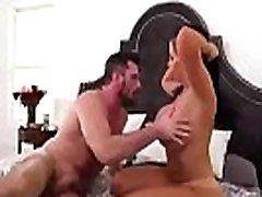 žmona ir vyras mielas rytą sušikti ir sušikti