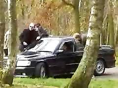 Franču mauku autostāvvietu