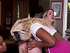 Lesbian Sex With Chanell Heart, Jenna Foxx & Khloe Kapri