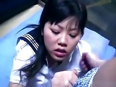 Steamy two girls and his mom Schoolgirl With Hairy