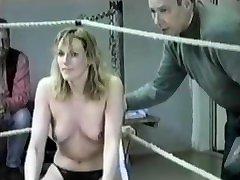 string bikini panties natural wedgie catfight