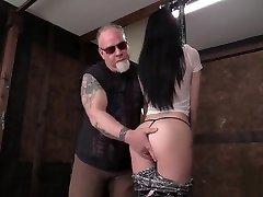 Teen BDSM - Babmi Black - Helplessness of the Ropes 1