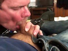 Verbal daddy's faggot boot licking