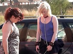 Lesbian fuckmom son bathroom of Satine Spark in public humiliation and voyeur asian sex my diary in nipple clamps and punishments by her femdom
