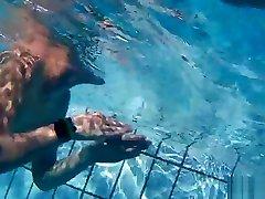 Nudist Couples Underwater Pool Hidden Spy cam erotic vibrator masturbation HD 2