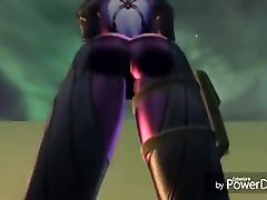 Widowmaker facesits fart edit