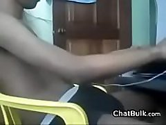 Indian Twink Strips And Masturbates