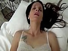 Mom & Son Share a Bed - Mom Wakes Up to Son Masturbating - POV, MILF, Family Sex, Mother - Christina Sapphire