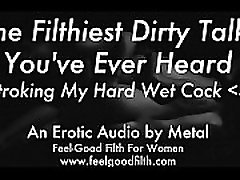 Stroking My Big Cum-Covered Cock & Talking Dirty feelgoodfilth.com - Erotic Audio for Women