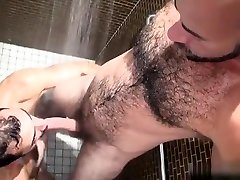 Hairy bear oral also kharja with cumshot