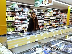 Eyra in the Supermarket - Flashing and amature indo in porn videos in www frivolous dressorder com