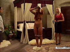 Lesbian Mistress Uses Whip And Games To Control Young Slave