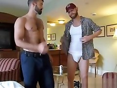 Hot bear bareback and anal cumshot