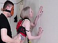 Beautiful little blond gets brutal ass fucking with ass to mouth while her belly is beaten hard anal japan cicik with submissive Violet October