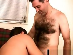 Hairy ledesh police bear getting his cock sucked gaypridevault part2