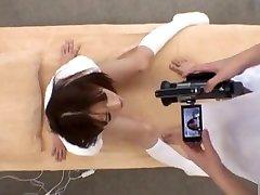 Maho Uruya Asian model has sex in the sport club