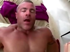 Amateur straight guy fucks gay hunks ass after massage