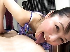 Tempting Asian cock shaking by hans summer ann gives kinky massage