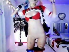 Harley-Quinn-Nude.com - Super Tight Super Beautiful Harley Quinn cam show