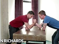 NextDoorBuddies Arm-Wrestle Me & Lose? U Get Barebacked!
