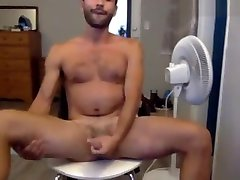 Hot Horny cocky angel Dude Gettin Off Stroking Thick Cock n Cumming on Cam