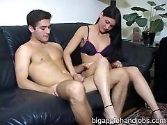 Big Apple Handjobs - Jade Jerks Her Boyfriend