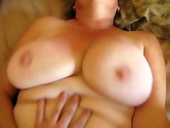 SWINGING TITS AND BUTTERFLY PUSSY LIPS - SEXY SILVER mait affair - HUGE PUSSY